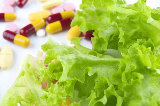 Vegetable and Vitamins