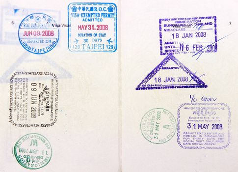 Malaysia passport travel to Asia