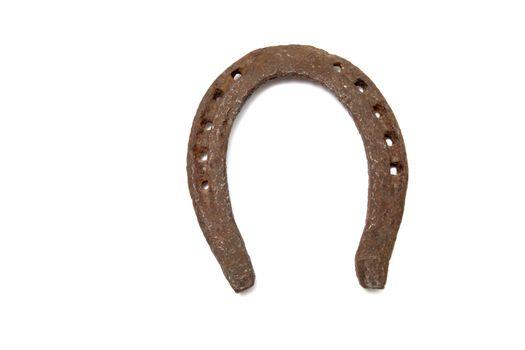Horseshoe for good luck symbol