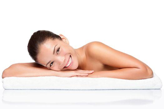 Spa - face skincare beauty woman