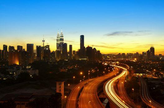 Kuala Lumpur Twilight