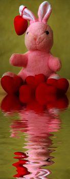 valentine / easter greeting background