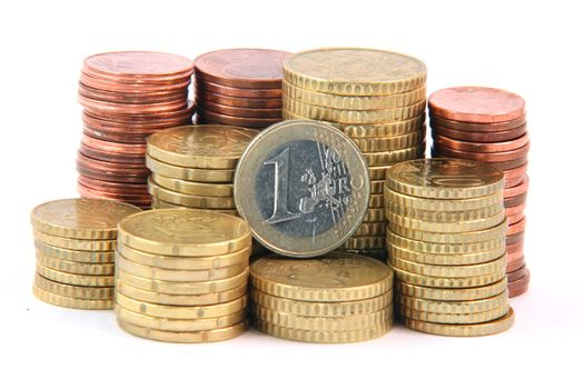 one euro and change