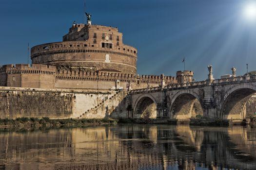 Saint Angels Castle in Rome