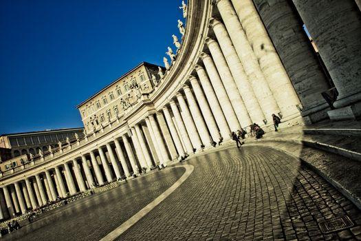 The Bernini Colonnade