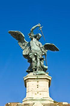 Saint Angels Castle Sculpture