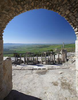 Roman Amphitheater at Dougga
