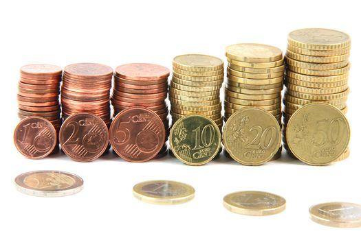 eurocoins piles