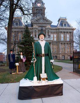 Cambridge Ohio Christmas Lighting