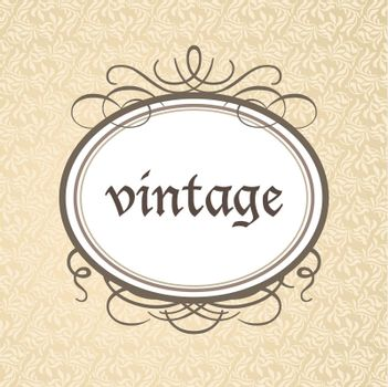Template framework - a luxurious vintage style.