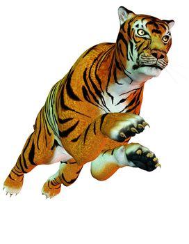 dangerous predator jumping