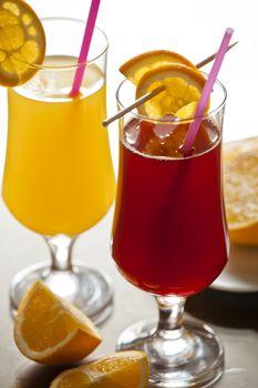Fresh Cranberry and Orange Juice
