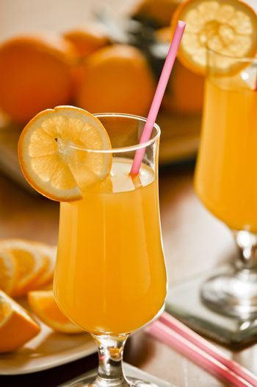 Fresh Orange Juice Breakfast