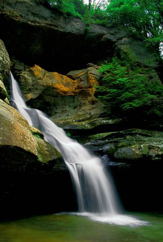 Cedar Falls at Hocking Hills State Park, Ohio.