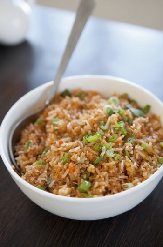 Singaporean fried rice