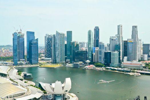 Singapore commercial area