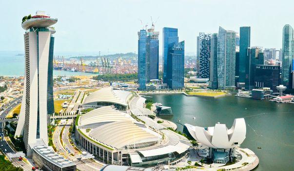 Singapore marine bay