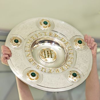 Championship trophy - the German soccer cup