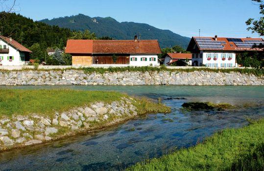 Alpive town
