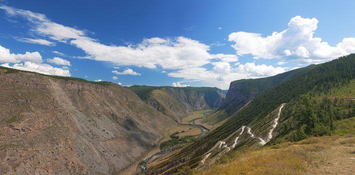 Altai mountains. Summer landscape. Russia
