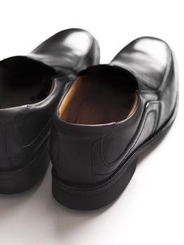 men's black business shoes