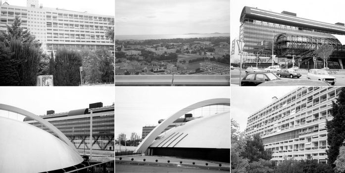 Marseille landmarks