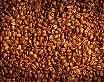Coffee beans background image...