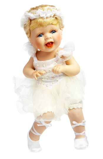 Doll in a dress of the bride