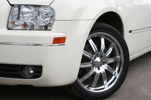 vehicle elegance white stretching success wedding limousine