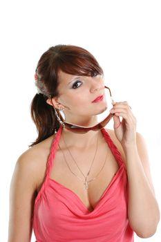 sunglasses protection face beauty girls elegance fashion