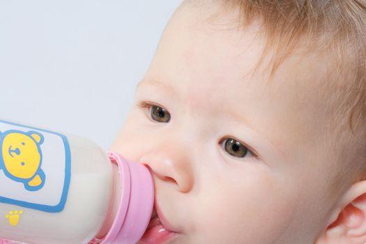 drinking part image human defocused child food