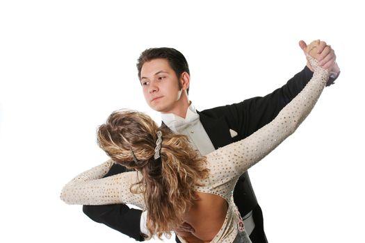 white black suit dress dance elegance posing