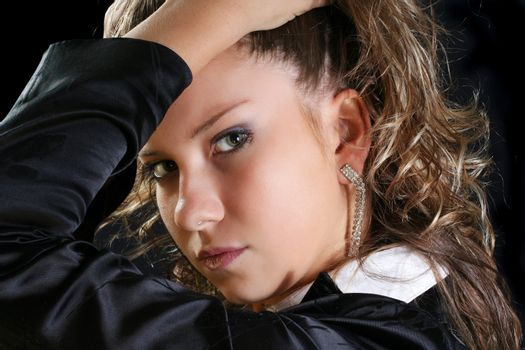 black face hair females portrait glamour beauty