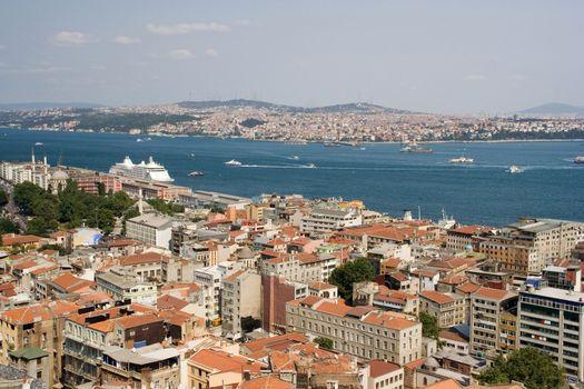 view life traffic skyline scenics sea architecture