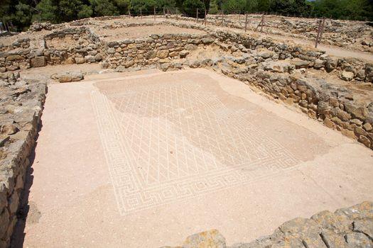 greek mosaic floor