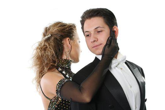 dress dance elegance posing love dancing couple