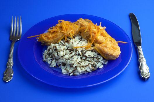 cartilaginous fish and rice