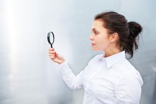Using Magnifying Glass