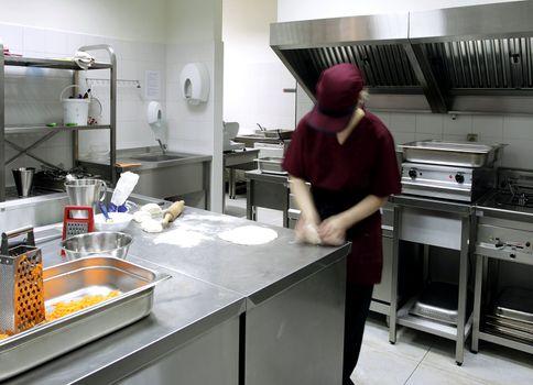Preparing delicious food