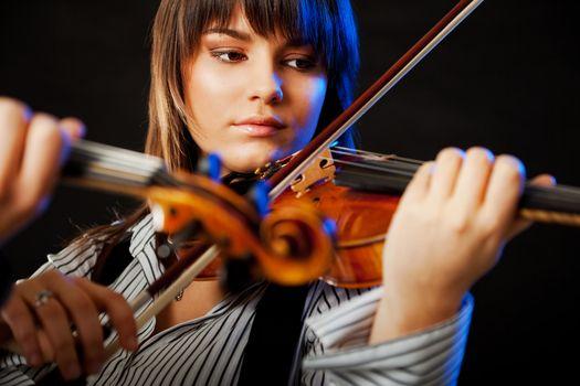 Violinist concert