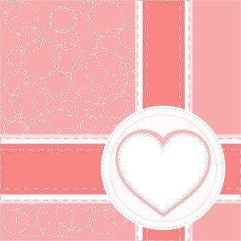 valentine love heart romantic birthday background vector