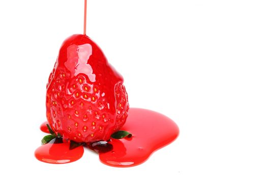 strawberry in syrup