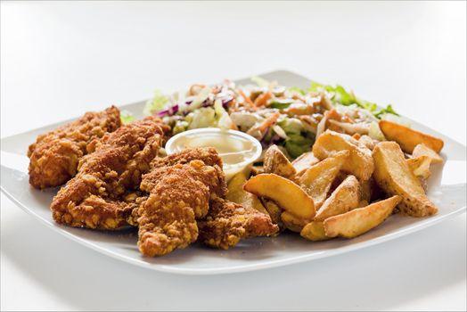 Chicken Strips Lunch
