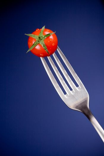 Fork with Tomato