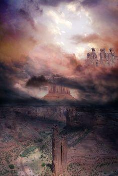 grand canyon unreal landscape