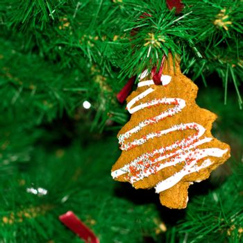 cakes in the christmas tree