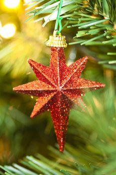 Shinny Christmas Star