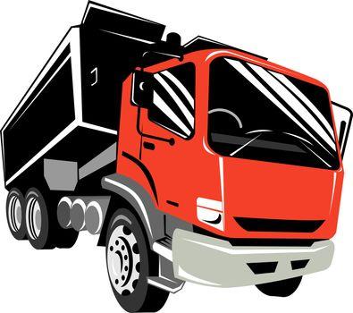 tipper dump truck lorry