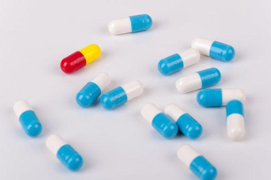 Capsules of medicament