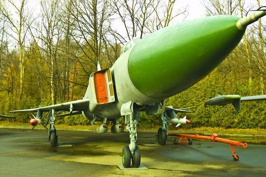 The SU15TM Fighter-Interceptor.